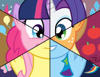Mane6 by The-Kinetic