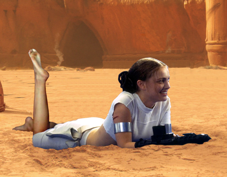 Barefoot Padme III (With Natalie Portman's Feet) by ATonyP