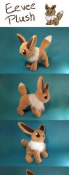Eevee Plush by Luminous-Luchador
