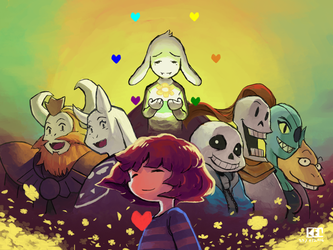 Undertale - True Pacifist by kelzero