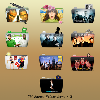 TV Folder Icons Set 2 by ashtray4241