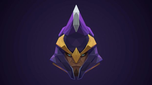 Silencer Dota 2 Low Poly Art by giftmones