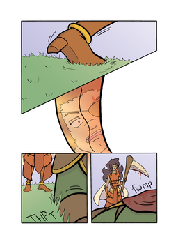 Messenger:  Ch 3 Page 49 by celestrialdarkmoon