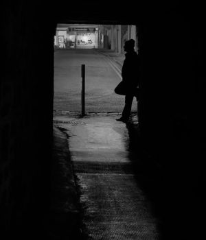 Waiting in the Shadows by BusterBrownBB