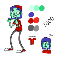 Todd: New Ref (maybe) by nyanxiety