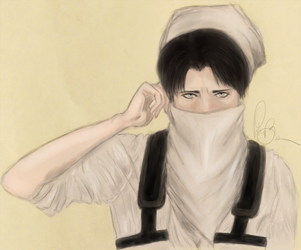 Cleaner Heichou by Amerpoison
