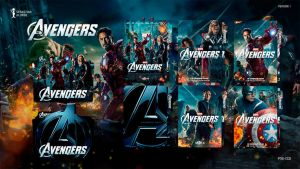 The Avengers (2012) Folder Icon #1 by sebasmgsse