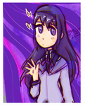 Homura by Maybe-Dead