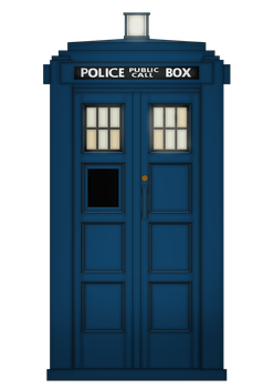 updated shalka TARDIS by Fusionfall550
