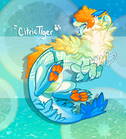 Rare Miikafet Auction! Citric Tiger [ENDED] by AdorkableMarina