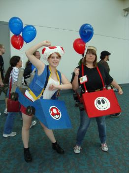 Wana Race - ComicCon 2010 by Shiny-Fox