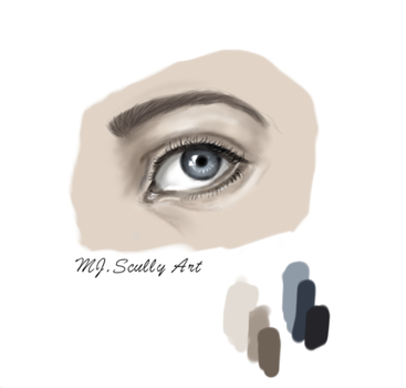 New to Digital Drawing so here is some testing :) by MJ-Scully