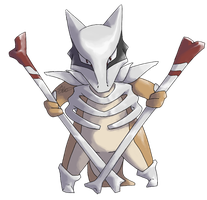 Mega Evolution: Marowak by AnaMorte