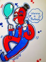 BEPPI THE CLOWN by AniaPinzon