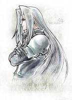 Sephiroth Artwork Final Fantasy VII by MCAshe