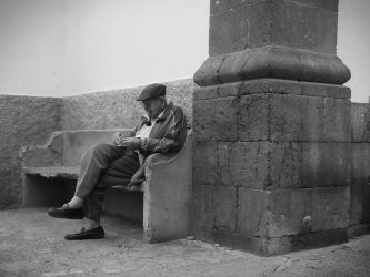 lonely Old Man by Gmysterko