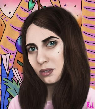 Hila Klein  by Rhyn-Art