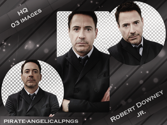 Pack PNG 001 - Robert Downey Jr. by pirate-angelicalpngs