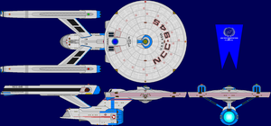 USS Asia Refit Multi-View by captshade