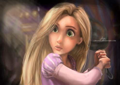 Rapunzel: My Weapon by crysticx