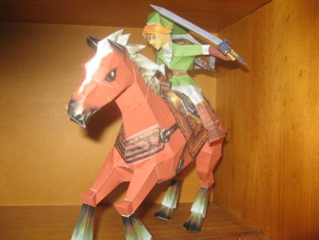 LinK and Epona By Ninjatoes by Ultima-D