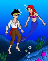 The Pirate and the Mermaid by streetgals9000