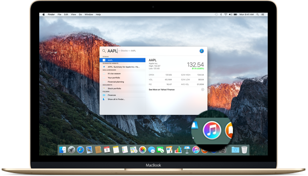 OS X El Capitan - new iTunes icon by vndesign