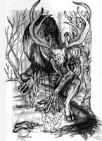 The Wendigo by DragonGirl787
