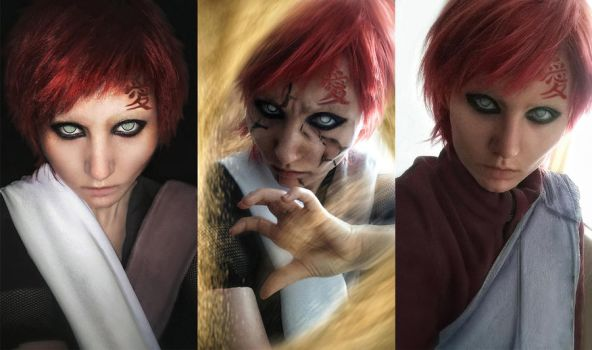 Gaara (Instant Cosplay) by a4th