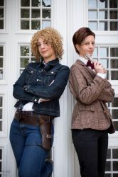 The 11th Doctor and River Song by NobodyRoxasXIII