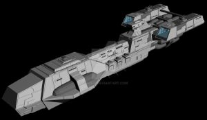 WIP: Patriot Frigate Mk2 - 1 by Vince-T