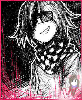 That evil boi Kokichi by FluttersDreams