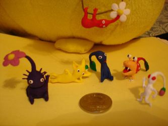 Sculpted Pikmin by Eyes5
