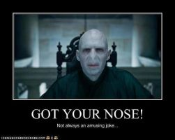 Voldemort Joke by MorganaDarkness