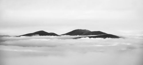 Cloud inversion, Highlands, Scotland by younghappy