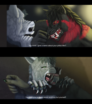 [YCH] You think... by Liraelwolf