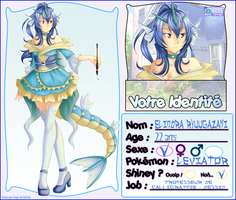 [Z] Fiche personnage - Elindra by Buttea
