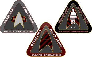 Starfleet Hazard Team Logos 1 by cbunye