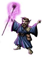 Gnomish wizard by mgasser