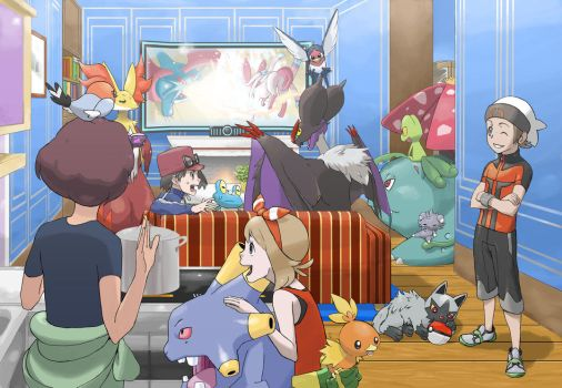 Home  Pokemon XY OmegaRuby and AlphaSaphire by Tyosif