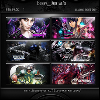 PSD PACK1 Preview by bobbydigital72