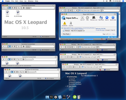Mac OS X Leopard 1.30 by blitzr