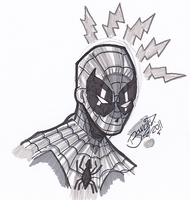 Spider-Man Warm-Up Sketch by BouncieD