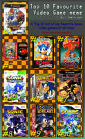 My Top 10 Favorite Sonic Games by CaseyDecker