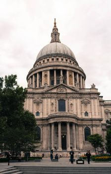 St Paul`s Cathedral 3 by FubukiNoKo