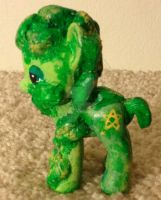 My Little Pony Green Man by TexacoPokerKitty