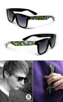 Rock Sunglasses by Bobsmade