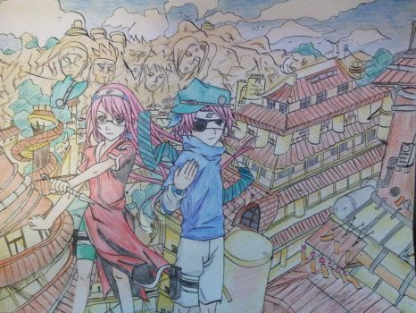 Crossover Hell!!: SMASH! 2012 w/ Sasuke and Sakura by SHINingkyrstal12