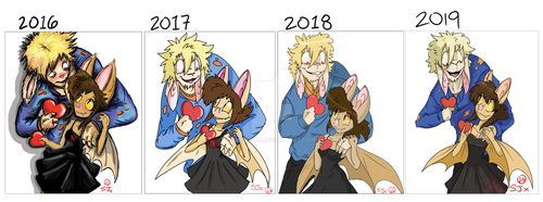 BxK Valentines Day 4 Redraw 2016-2019 by Bat13SJx