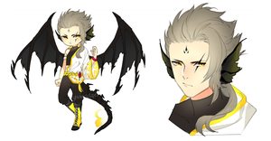 Dragon Adopt Auction [CLOSED] by yhviia-adopts
